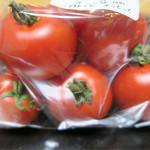産直市場よってって - 料理写真:新鮮なトマト!