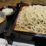 新潟古町 藪そば - 料理写真:ごまだれそば H28.7
