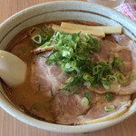 すすきの亭 - 味噌チャーシュー麺