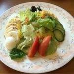 オリーブ - オリーブサラダ ¥480