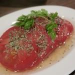 クラフトマンズ キッチン - 洋風冷やしトマト