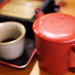 そばうどん 山びこ - 蕎麦湯