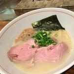 53737539 - 濃厚魚介そば元味 822円