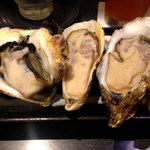 53738091 - 極上の牡蠣三種
