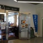 Cafe金次郎 - (2016/5月)トイレ前の入口