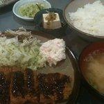 じゅんや - ロースカツ定食(890円)