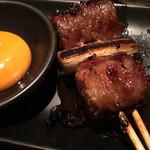 焼とりの八兵衛 - ★すき焼き串