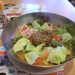 ガスト - 料理写真:糖質0麺 冷やしサラダ タンタン麺(700円税込)