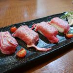 53741430 - 2016/7/14  和牛肉寿司〜〜