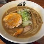 麺匠 中うえ  - 雲丹豚骨らーめん(800円)