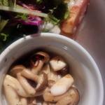 サンドピット - キノコ炒め