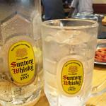 馬力キング - 後半は、芋水のエンドレス~♪ 芋水も角ハイジョッキに入ってます。