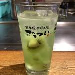 お好み焼 鉄板焼 ごっつい錦糸町 - 生キウイサワー