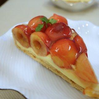 かにわしタルト店 - 料理写真:佐藤錦のタルト