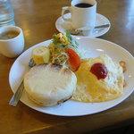 喫茶 安和の里 - 料理写真:日替わりモーニング