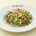 ラ・ベットラ・ダ・オチアイ - 料理写真:本日のお魚のカルパッチョ