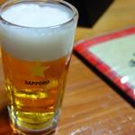 居酒屋 ひょうきん - 生ビール