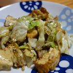 居酒屋 ひょうきん - 豆腐チャンプルー