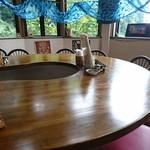 アジアンエスニック料理 マヤ - カウンター席