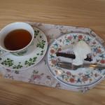 53753941 - 高梁紅茶&ガトーショコラ 2016年7月