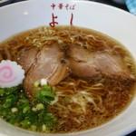 中華そば よし - 中華そば(魚介)¥620