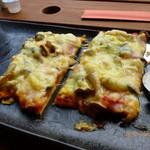 Katsunuma 縁側茶房 - ピザ