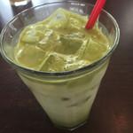 Piccolo Caffe del porto - 抹茶ラテ