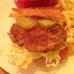 ブプッピドゥー - バゲットサンドイッチ(ハンバーグ)
