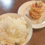 53757270 - 餃子セットA(ご飯食べ放題)