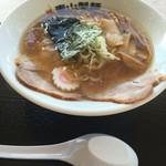 青山製麺 - 焼きアゴ醤油らーめん