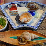 お宿 浜田館 - 夕食 前菜