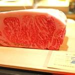 にくの匠 三芳 - 川岸牧場 神戸牛サーロイン