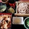 そば処 春元 - 料理写真:天重セット 1,100円