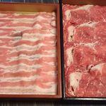 牛禅 - 国産牛と北海道産豚食べ放題で♪