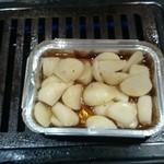 焼肉食堂 だい - にんにく焼き(410円)