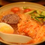 焼肉問屋 飛騨牛専門店 炭火焼肉ジン - 盛岡冷麺 790円