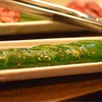 焼肉問屋 飛騨牛専門店 炭火焼肉ジン - うまかぁきゅうり 290円