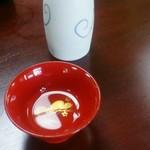 手打ちそば やぶ朝市店 - 日本酒:白駒