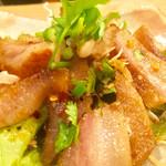 タイ居酒屋 カナ - 豚トロ焼き(¥700)