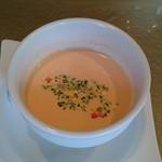 鳥居本 遊山 - 【スープ】パプリカ冷製スープ