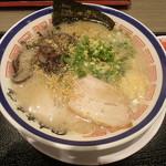 田中商店 - 2016.7時点の豚骨らーめん