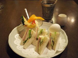 喫茶サンチョ - モーニング サンドウィッチセット
