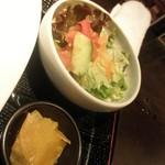 53768191 - サラダと漬物・・・