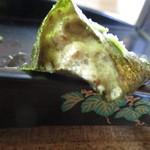 みくに茶屋 - 28年7月 自然薯の刺身
