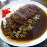 ずぼら - 料理写真:「カツカレー」700円