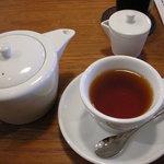 カフェユイットヤマテ - 紅茶