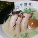 金田家 - 黒豚らーめん煮玉子入り☆☆850円