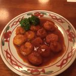 ビストロ 4匹の猫 - 小海老のチリソース煮