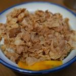 ラーメン太郎 - 16.7月 豚丼(並)500円