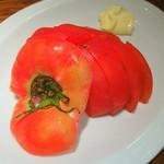 渋谷餃子 - 冷やしトマト♥♥ !щ(゜▽゜щ)